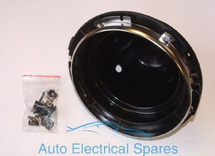 "WIPAC Headlamp Bowl and retaining rim 7"" plastic for RACE RALLY KIT CAR"